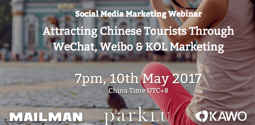 Travel KOL Marketing Chinese Travelers Webinar