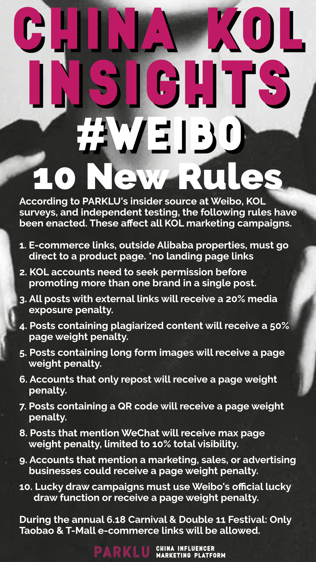 10 New Rules for a Weibo KOL